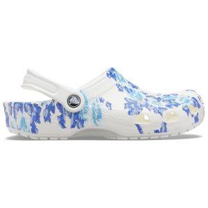 Crocs floral clog