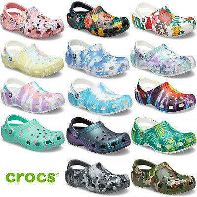 Have Great Fun With Cute Crocs Classic Printed Clog